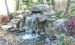 Pool Waterfall Systems Installation Ricorock Michigan Indiana Berrien